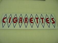 Diamond CIGARETTES Metal Sign