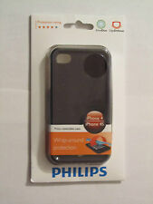 Philips Case for  iPhone 4 / 4S Dual Layer Shell Wrap-around Protection