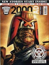 2000 AD Magazine #1600 VF/NM judge dredd A.D. red seas stalag 666 mag