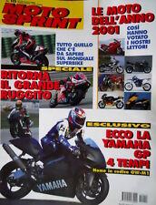 Motosprint 10 2001 Ecco la Yamaha GP 4 tempi. Mondiale Superbike. [Q78]