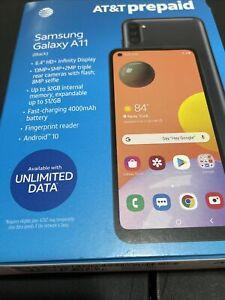 BRAND NEW SEALED Samsung Galaxy A11 Att Smartphone - 4G LTE - 32 GB -