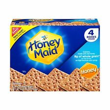 Honey Maid Graham Crackers (14.4-Ounce Boxes 4-Pack) 4 Pack Free Shipping