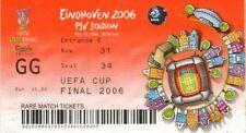 Reproducción 2006 Sevilla Middlesbrough UEFA Cup Final Personalizadas Ticket
