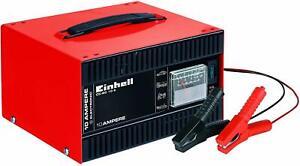 CARGADOR BATERIAS EINHELL CC-BC10 12V HASTA 10 AMP CHAPA ACERO AMPERIMETRO