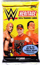 WWE Topps Heritage 2016 Wrestling Cards Factory Sealed Pack