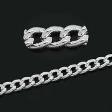 10M Cable Chains Silver Plated 2mm B30799