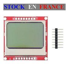 "Module LCD 1.6"" N&B - Rétroéclairé - Nokia 5110 - Arduino Raspberry"