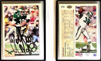 Rich Miano Signed 1992 Upper Deck #210 Card Philadelphia Eagles Auto Autograph
