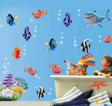Findet Nemo Dorie Wandtattoo Fische Comic Wandsticker Deko Bad- Kinderzimmer