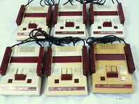 Untested! Lot 6 Nintendo NES FC Famicom Console System Japan Video Game #3085