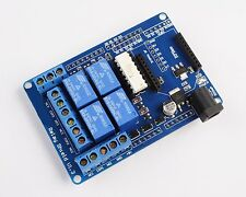 1 PC - 4 CHANNEL RELAY MODULE SHIELD 70W For Arduino UNO R3 XBEE 315 433MHz RF