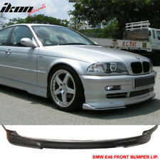 PU Fits 99-03 BMW E46 3-Series Coupe Urethane Front Bumper Lip Spoiler Body Kit