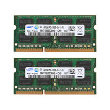For Samsung 8GB 2x4GB PC3-10600 DD3-1333MHz Laptop 204Pin Memory RAM SO-DIMM NEW
