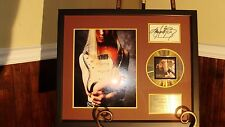 Kenny Wayne Shepherd  AUTOGRAPHED / SIGNED Photo / Gold CD Trouble Is Era FRAMED