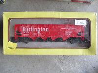 Vintage HO Scale Model Power Burlington Hopper Car in Box