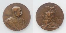Franz Joseph I. Cu-Medaille 1903 Enthüllung des Denkmals