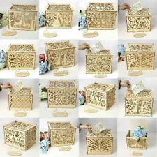 DIY Wooden Wedding Card Post Gift Card Receiving Box Wishing Well Rustic Box AU
