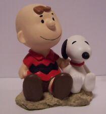 Charlie Brown Snoopy Bank Japan Sitting