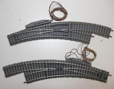 More details for fleischmann h0 gauge no 6142 profi track electric left hand & right hand point