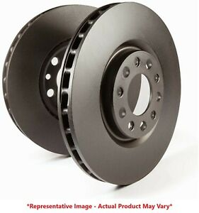 EBC RK Non Slotted Front Rotors for 01-06 Sebring / Stratus / Galant / Eclipse