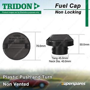 Tridon Non Vented Non Locking Fuel Cap Plastic for Ford Focus LS LT LV