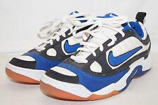 NIKE air vintage Hallenschuhe Handball Volley 1998 Gr.38,5weiss blau 145031 141