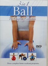 3 in 1 Ball The Complete Collection  DVD Strength Training Video