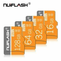MicroSD 128GB 32GB 16GB TF-Flash-Memory-Cards Class10 SD-Cards For Phone Cameras