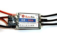 90a ice Sunrise vuelo-Helicopter regulador-con switch Bec 5,9 - 7,6 - 8,3v