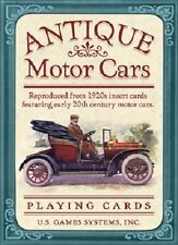 Antique Motor Cars Playing Cards New