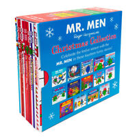 Mr Men & Little Christmas 14 Childrens Books Paperback By Roger Hargreaves