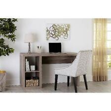 Wood Finish Computer Desk Pc Laptop Workstation Study Dorm Home Office Furniture