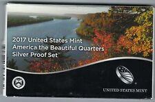 USA: America the Beautiful Quarters Silver Proof Set 2017