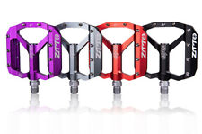 ZTTO Cycling MTB Road Bike Pedals Bicycle DU Sealed Bearing Flat Pedal 9/16 inch