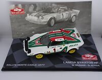 LANCIA STRATOS HF  1977 RALLY MONTE CARLO  CAR  1:43
