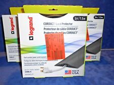 LOT 3 Legrand Wiremold Corduct CDBK-5 Foot Over-Floor Cord Protector  (LOC-130)