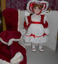 Shannon Michelle Porcelain Doll - NOEL - Christmas Doll - Design Debut