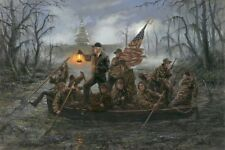 Crossing The Swamp by Jon McNaughton - 20x30 SNLE Litho Print - President Trump