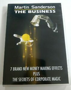 THE BUSINESS by Martin Sanderson - Professional Magic Trick DVD