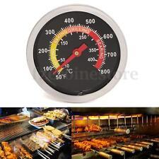 50 - 400℃ Termómetro Medidor Para Horno BBQ Barbacoa Asado De Acero Inoxidable