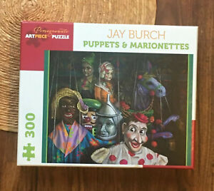 GIFT Pomegranate Artpiece Puzzle Puppets & Marionettes COMPLETE 300 pcs