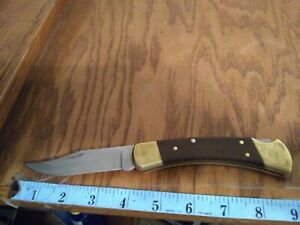 Vintage POCKET Knife Buck  -110-  U.S.A. FOLDING Blade