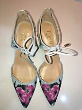 Franco Sarto  Darlis Floral Print Shoe with kitten heel  -