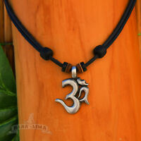 Lederkette Halskette Surferkette Om Buddha Kette Herren Damen Omkette