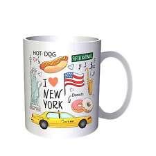 I Love New York drôle Novlety Nouvelle Tasse k96