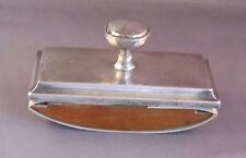English Sterling Silver Blotter-hallmarked