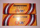 NEW Lot 6 Golf Balls BRIDGESTONE e6 PLUS WHITE - 2 Sleeves ADVANCED URETHANE