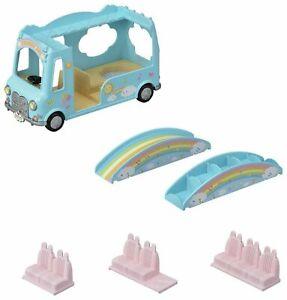 Sylvanian Families Sunshine Nursery Bus Set 5317 Removable Seats Age 3 Years +