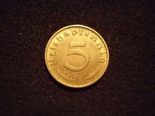 5 Reichspfennig 1937 - 1939, Jg.363, sehr schön und vorzüglich