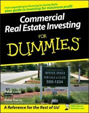 Commercial Real Estate Investing for Dummies, Paperback by Conti, Peter; Harr...